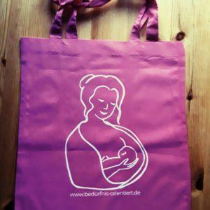 Bild von der Stilltasche mit Logo von bedürfnis-orientiert.de
